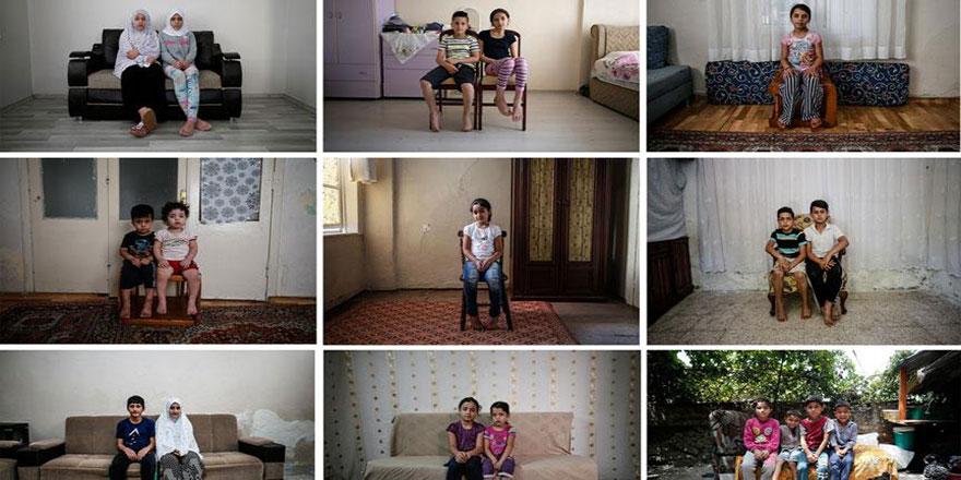 Suriyeli yetimlerin baba özlemi dinmiyor