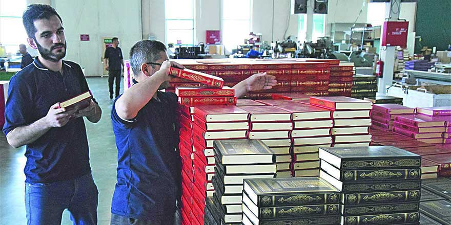 Hedef, Isparta'dan 70 ülkeye 1 milyon Kur'an-ı Kerim göndermek