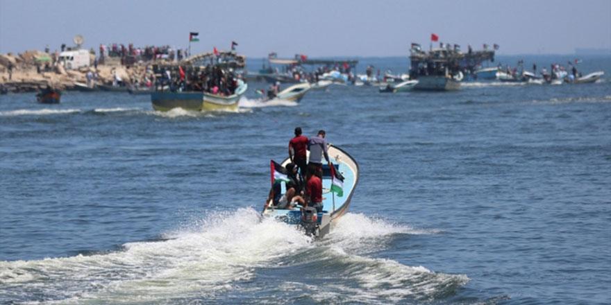Özgürlük Gemisi-2 İsrail ablukasını kırmak için Gazze'den yola çıktı
