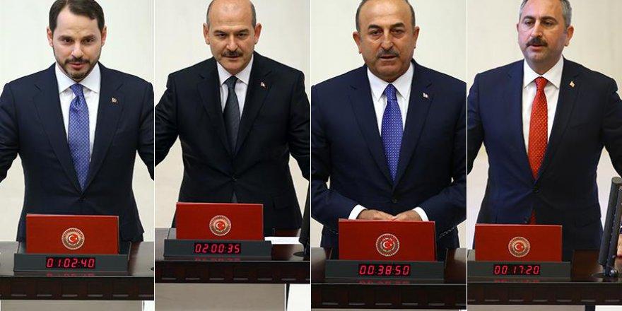 Yeni bakanlardan dördü milletvekilliğinden istifa etti