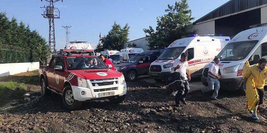 Tekirdağ İl Sağlık Müdürü: Kaza bölgesine 77 ambulans gitti