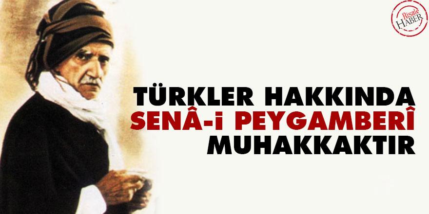 Bediüzzaman: Türkler hakkında senâ-i Peygamberî muhakkaktır