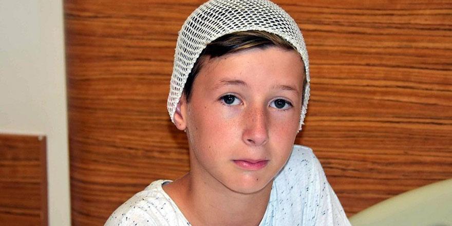 Tren kazasında onlarca canın kurtulmasına vesile olan 11 yaşındaki cesur Emir