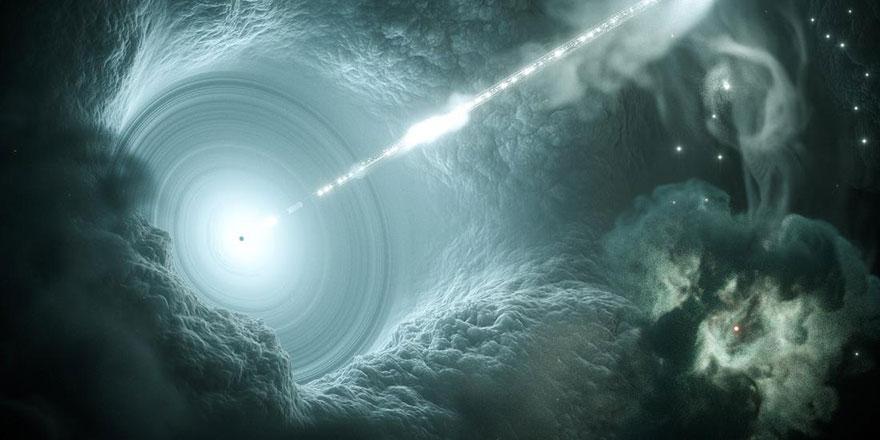 Dünya'ya ulaşana dek 3,7 milyar ışık yılı geçen atom-altı parçacığın izini sürdüler