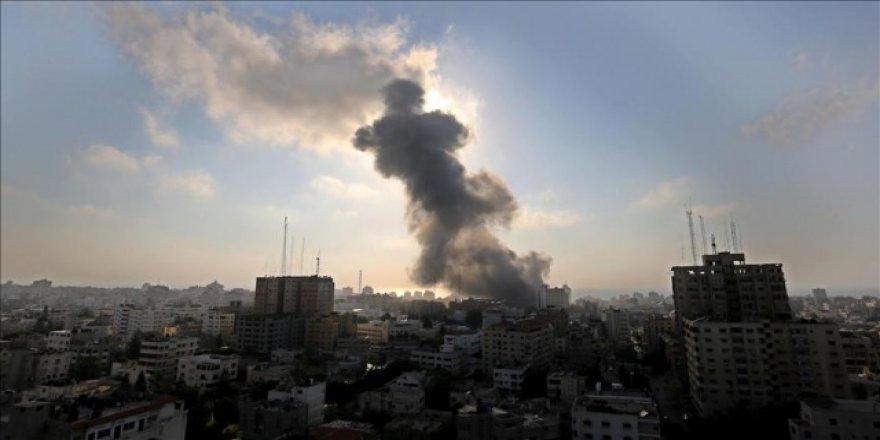 İsrail'in Gazze saldırısı çocuklara korku dolu anlar yaşattı