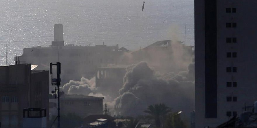 İsrail Gazze'deki sanat köyünü de vurdu