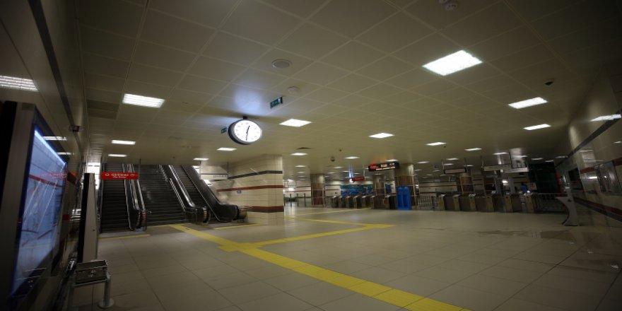 Sürücüsüz metronun ikinci etabı test ediliyor