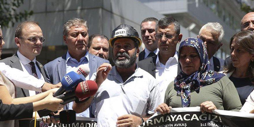Soma'daki madencilerin yakınları adalet istiyor