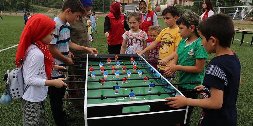 Fatsa'da eğlenerek Kur'an öğreniliyor