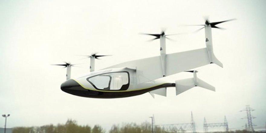 2020 yılında gökyüzünde uçan taksiler olacak