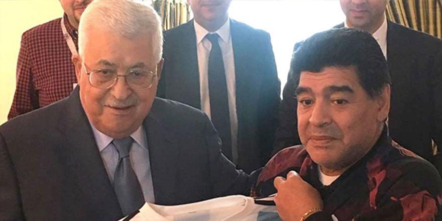 Efsane futbolcu Maradona: Filistinliyim