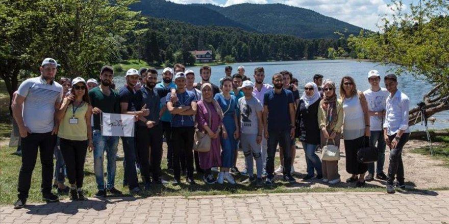 Suriyeli öğrenciler Bolu'yu gezdi