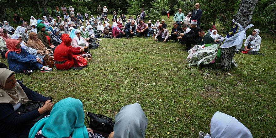 Kurşuna dizilen Srebrenitsalılar anıldı