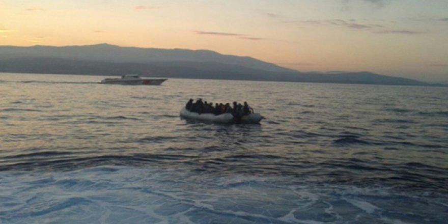 Edirne'de 98 göçmen yakalandı