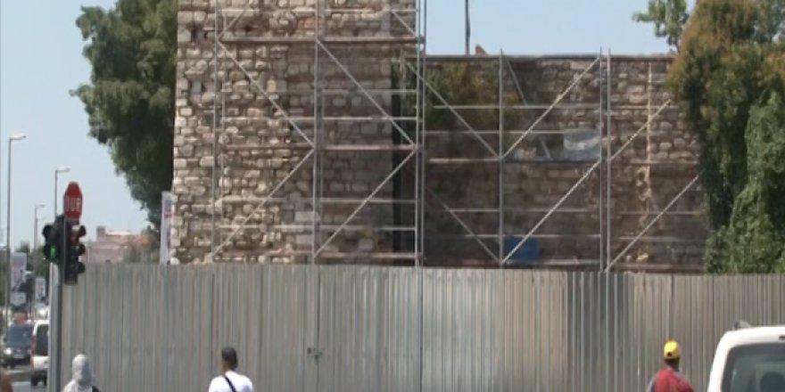 İstanbul'da 2 yıla yakın süre boyunca surlar restore edilecek