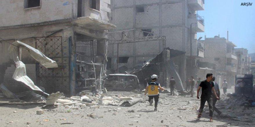 Esed Rejimi varil bombası attı, 10 kişi öldü