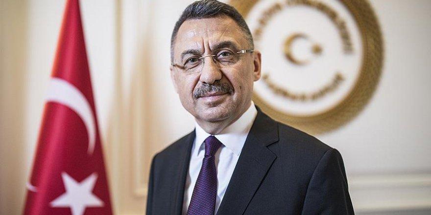 İlk Başkan Yardımcısı Oktay'a 'hayırlı olsun' ziyaretleri