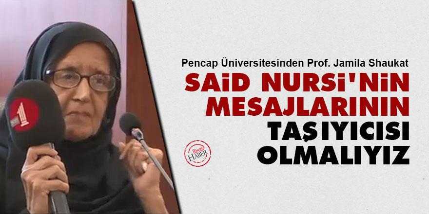 Said Nursi'nin mesajlarının taşıyıcısı olmalıyız