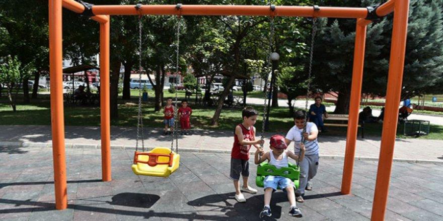 Ankara'da çocuk parklarının güvenliği daha sıkı olacak