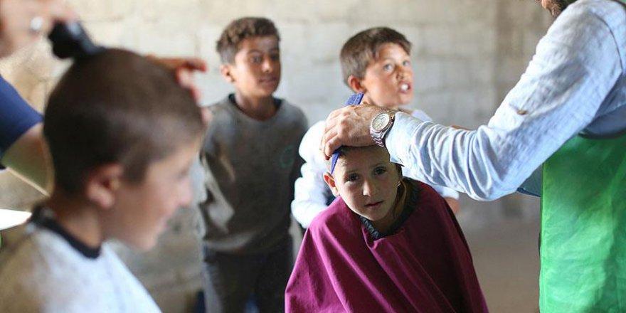 Türkiye'den gönüllü olarak Suriye'ye gittiler
