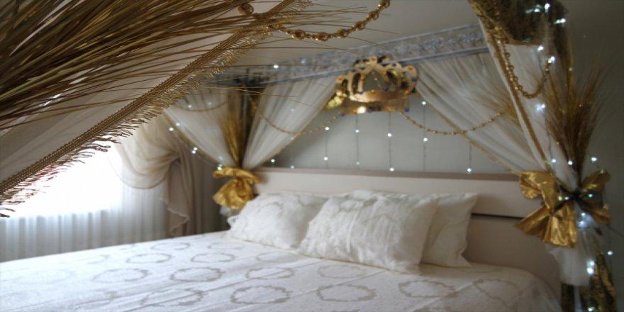 Sünnet yatağı süsleme geleneği mesleği oldu