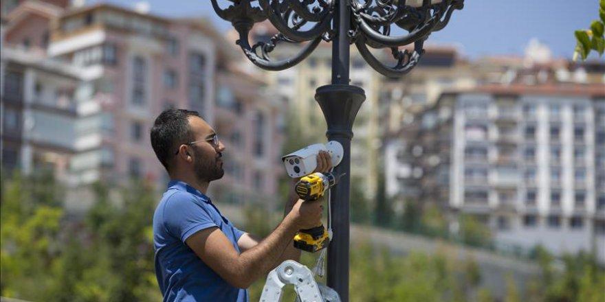 Ankara'da 20 parkta güvenlik uygulaması başladı