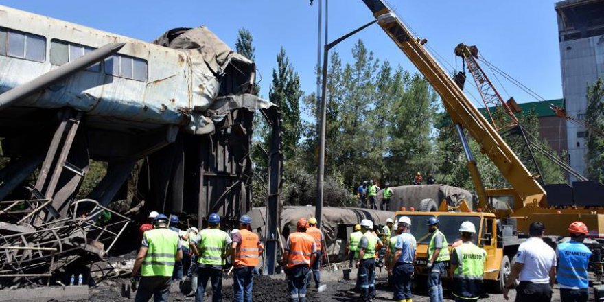 Yatağan Termik Santrali'nde çöküntü: 1 işçi vefat etti