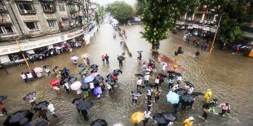 Hindistan'da Muson yağmurları nedeniyle 28 kişi öldü