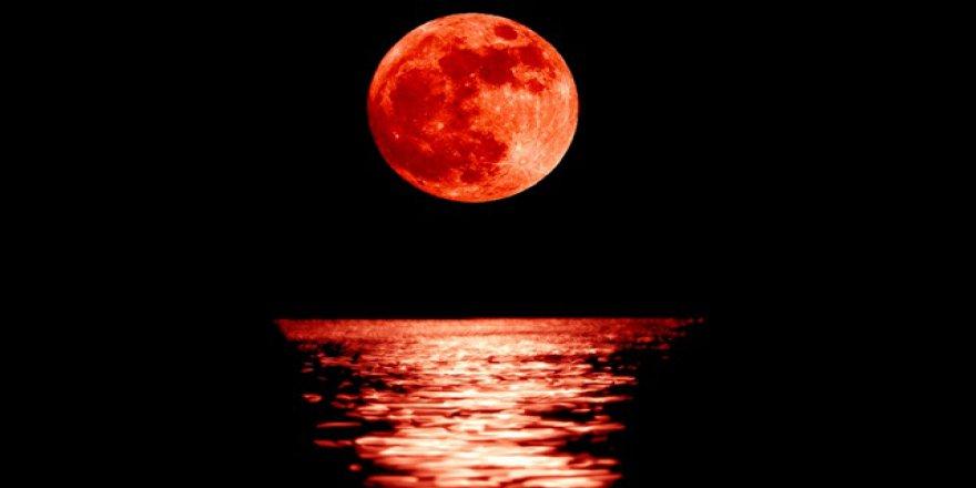 Kanlı Ay tutulması en net Türkiye'den izlenecek