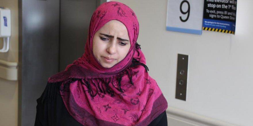 Terörist Araplar diye bağırıp saldırdılar, kocası komada