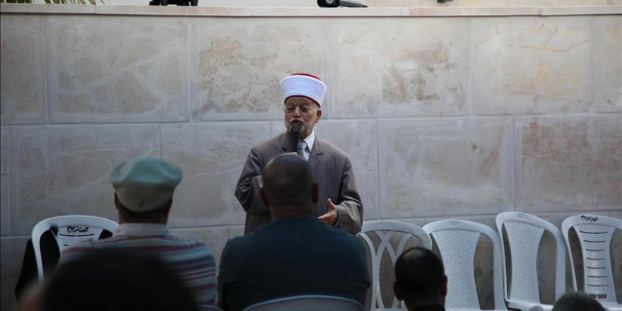 Mescid-i Aksa'daki Cuma Hutbesi: 'Yahudi Ulus Devleti'