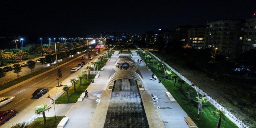 İstanbul'da 'Sis Parkı' açıldı