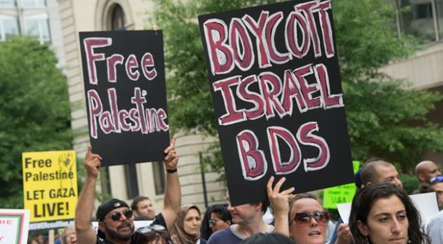 "39 Yahudi cemaatinden ""İsrail'e boykot'a"" destek"