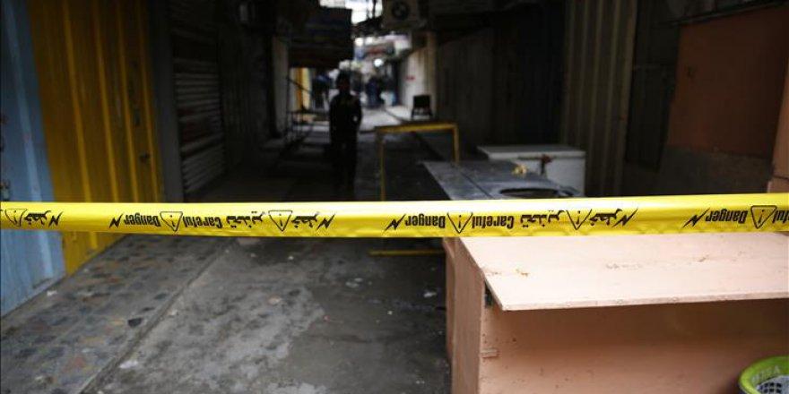 Irak'ta muhimmat deposu patladı: 15 yaralı