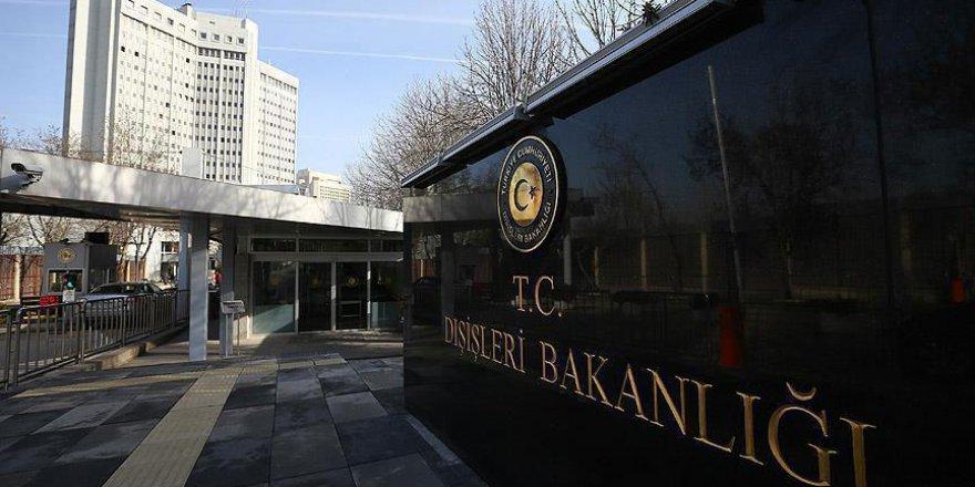 Dışişleri Bakanlığı'ndan Afganistan'daki saldırıya yönelik kınama