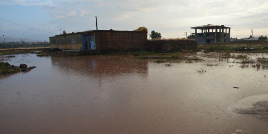 Ağrı'da yoğun yağış nedeniyle taşkınlar yaşandı