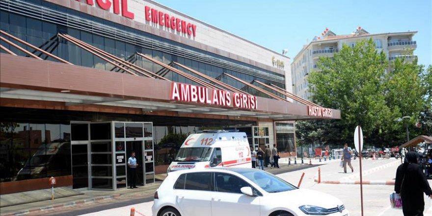 Azez'de yaralanan 5 kişi Türkiye'de şifa bulacak