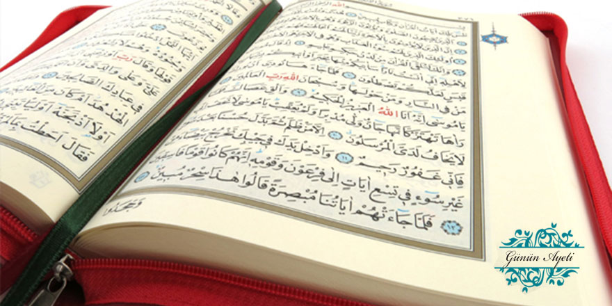 Ey Habîbim! De ki: O hâlde Allah'a kaçın!