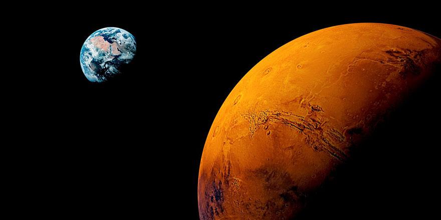 Mars'ta deprem oldu sesini kaydettiler