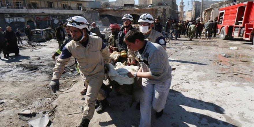 Esed rejiminin İdlib'e hava saldırılarında sivil kayıplar artıyor