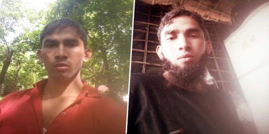 Müslüman gencin sakallarını zorla kestiler