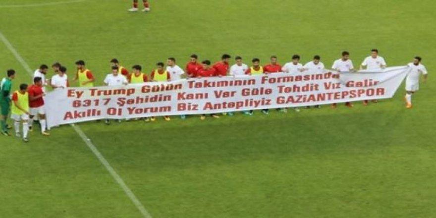 Gaziantepspor'dan ABD'ye tepki