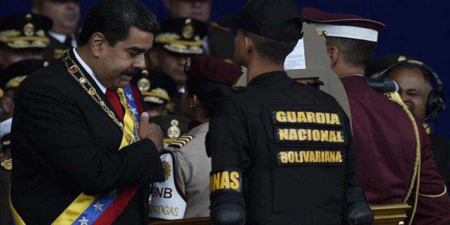 Venezuela Devlet Başkanı'na suikast girişimine tutuklama