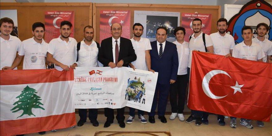 TİKA'nın genç gönüllüleri Lübnan'da