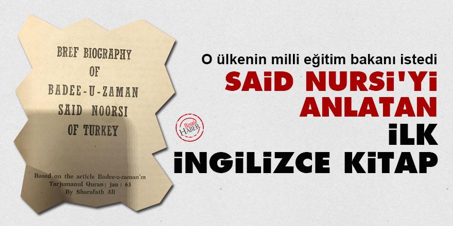 Said Nursi'yi anlatan ilk İngilizce kitap