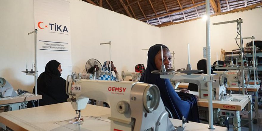 Tanzanyalı yetimlerin yardımına TİKA yetişti