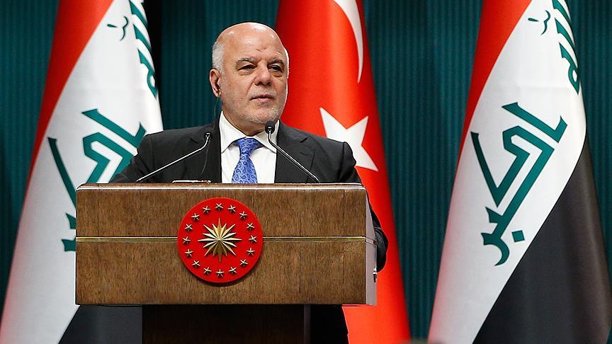 Irak Başbakanı İbadi: 'Türkiye'nin yanındayız'