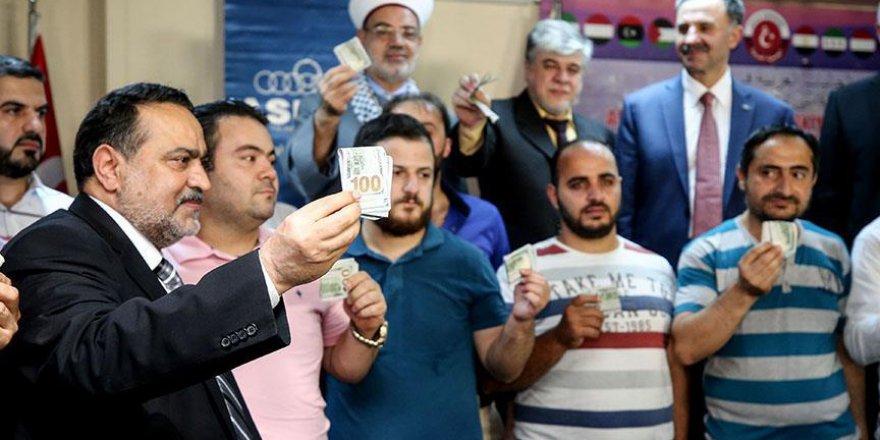 Türkiye'de yaşayan Araplardan dolar bozdurma kampanyası