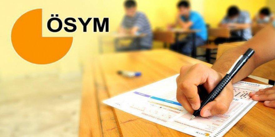 ÖSYM'nin hafta sonu yaptığı sınavlara 39 bin aday katıldı