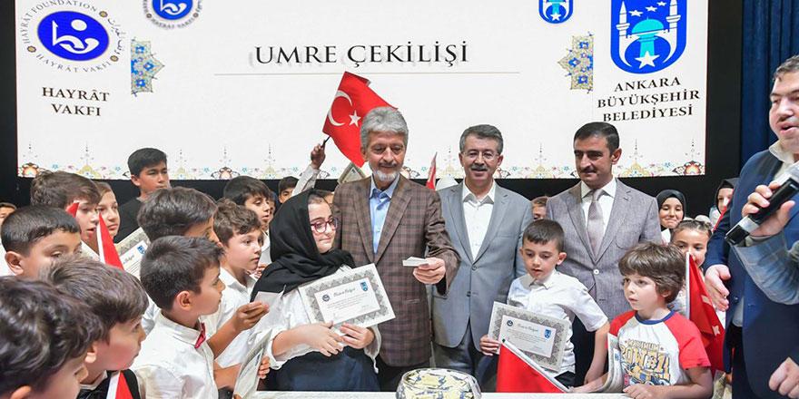 Kur'an ve Osmanlıca öğrenen çocuklara sertifika verildi
